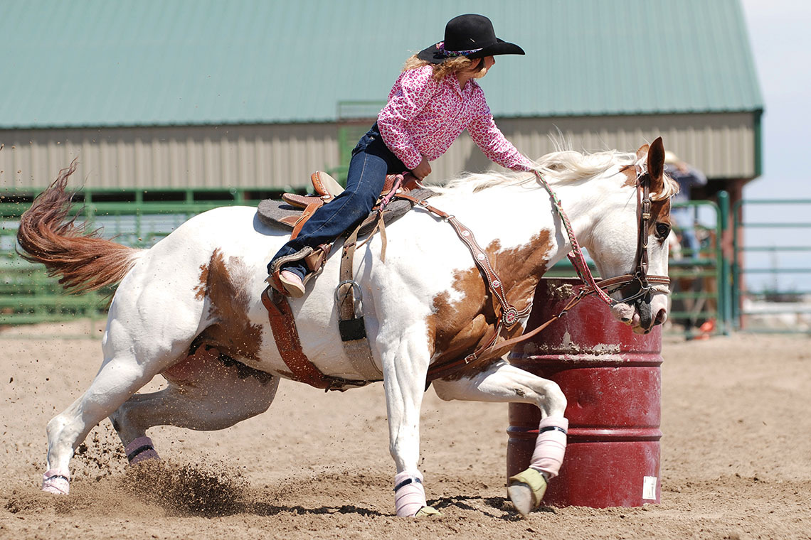 Horse Barrel Racing